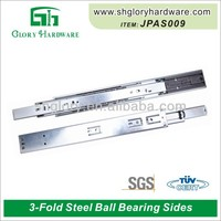 ball bearing slides undermount self closing drawer damping slide