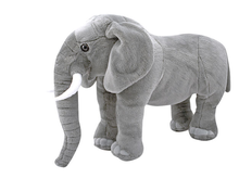 Plush Elephant ,realistic elephant life size toy custom stuffed toy