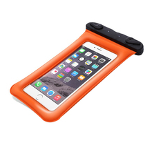 Drop shipping Universal Airbag Floating PVC Swimming Bag Pouch Waterproof mobile phone case