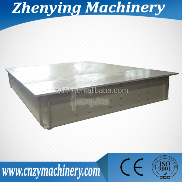 ZY vibrating table design machine manufacturer with CE & ISO