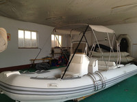 new motor 5.8m catamaran fishing rib boat with for sale