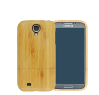 Factory Wholesale Wooden Case For Galaxy S4 Mini