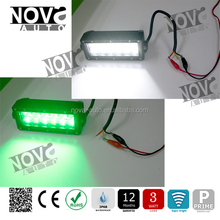 one Years Warranty Dual Rows White/Green Color Truck Led Light Bar with 72w