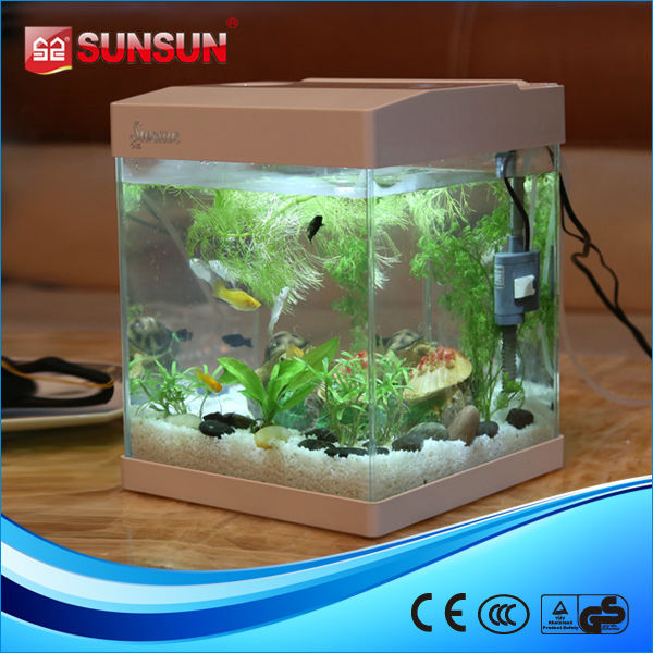 Sunsun g 20 coffee table acrylic aquarium aquarium fish for Aquarium boule 20 litres