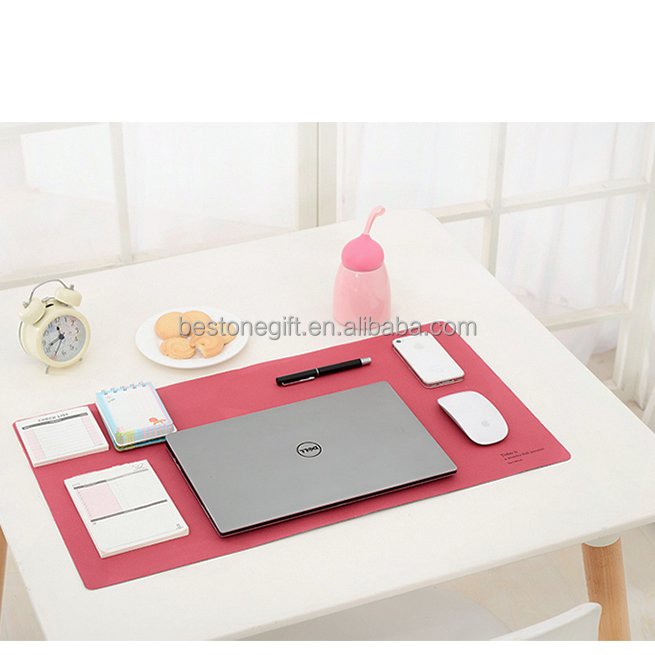 Pu Leather Office Writing Pad Desk mats writing pads for office desk