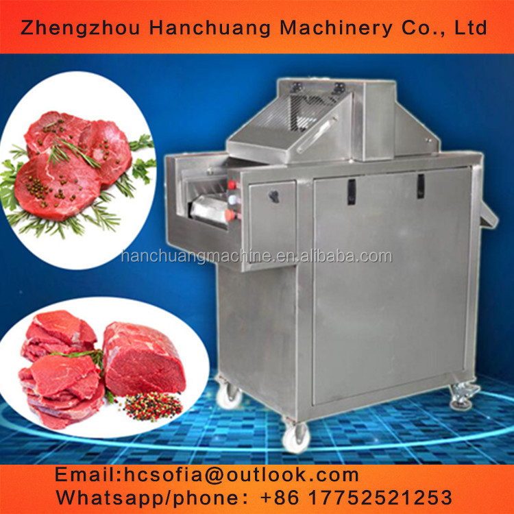 HOT sale meat steak hamstring tenderizing machine