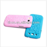 Flower Carve Hollow Hard Back Cover Case for Samsung Galaxy S3 S III 3 i9300
