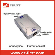 S/PDIF(Toslink) digital optical to digital coaxial (RCA) audio converter