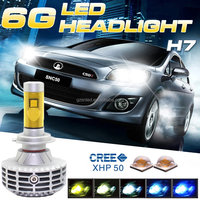 6th Generation 3000lm High Power PX26D H7 LED Head Bulb Auto