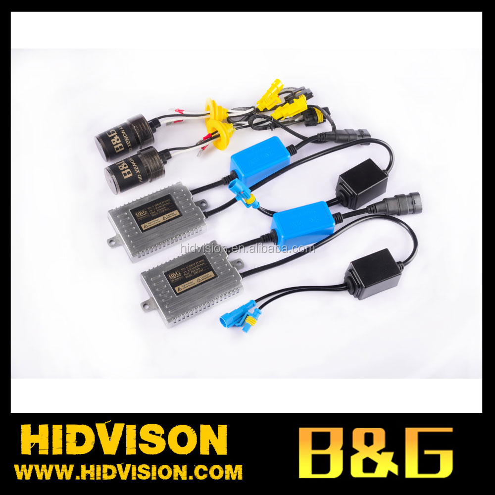 100% Full Watt 12V 35W/55W CANBUS Ballast Replacement Xenon HID KIT H1 H3 H4 H7 H11 9005 9006 Xenon Light
