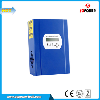 MPPT Solar Cell Charge Controller 60A with 40A DC Loads Output Current, Wifi Control