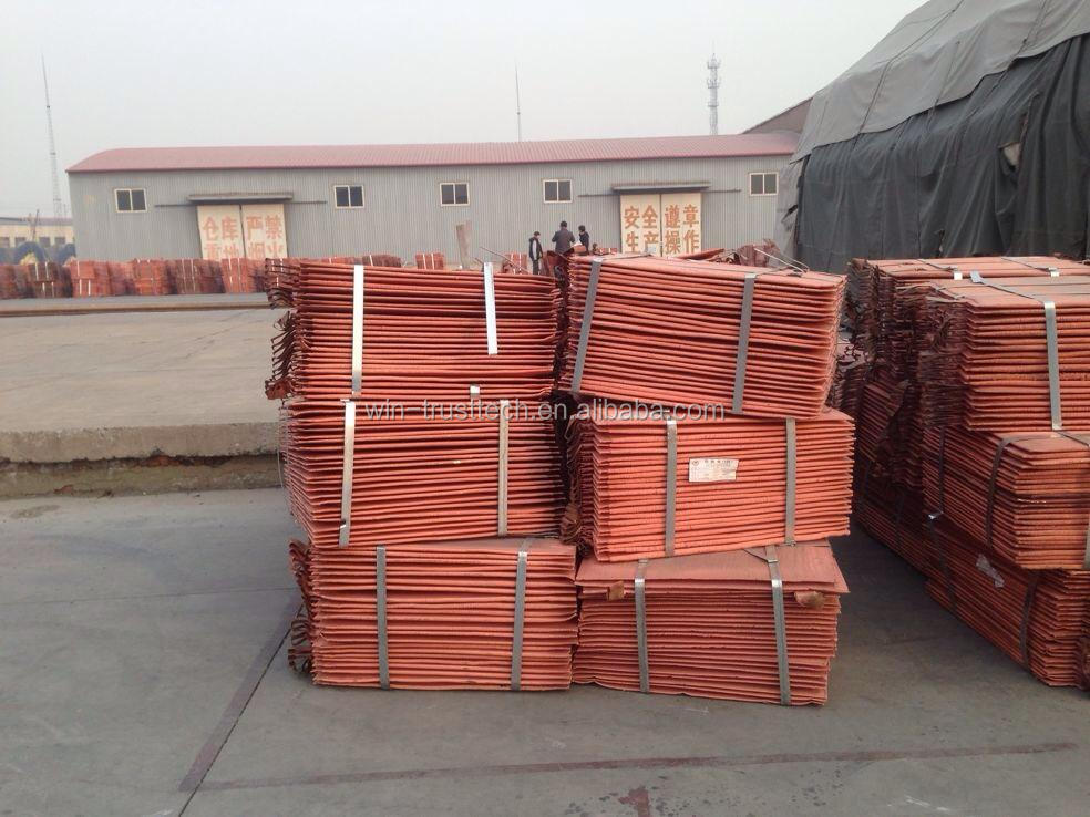 Cheap Price of 99.99% pure copper cathode for sell