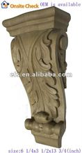 antique carved decorative wooden corbels (EFS-YCY-074)