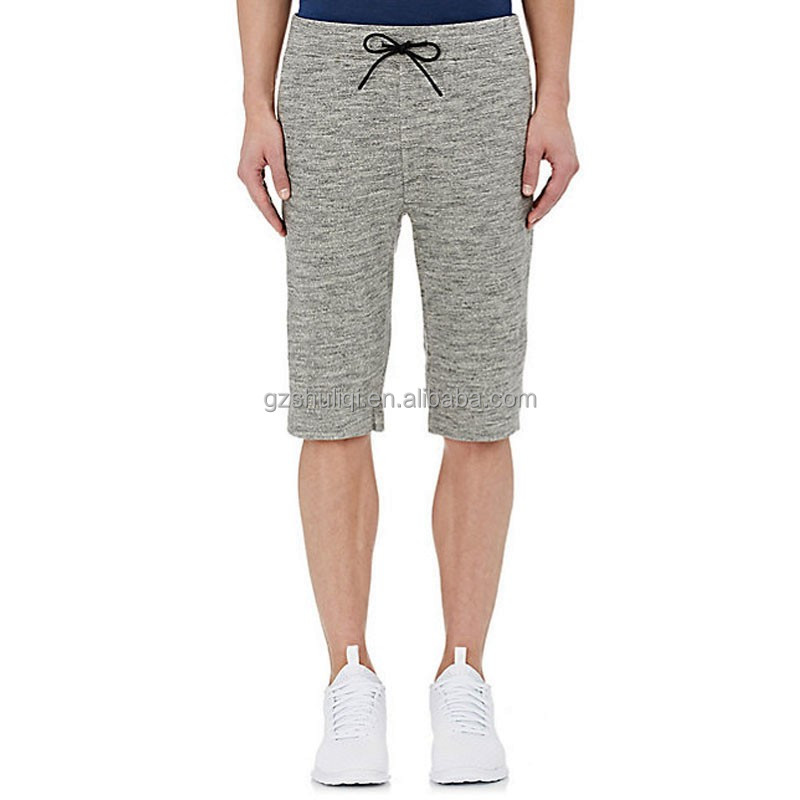 100% polyester swim shorts mens cotton blend stripe knee length shorts men's linen-blend drawstring shorts