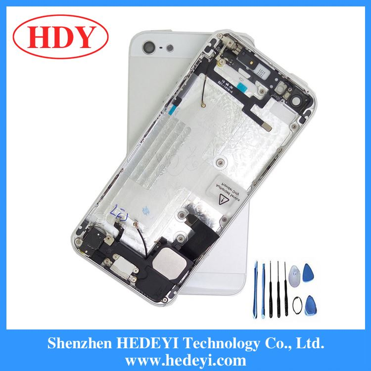 5 housing,replacement parts for iphone 5 back cover housing