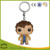 Custom plastic keychain wholesale,OEM cartoon 3D plastic keychain 3D custom shaped keychain plastic