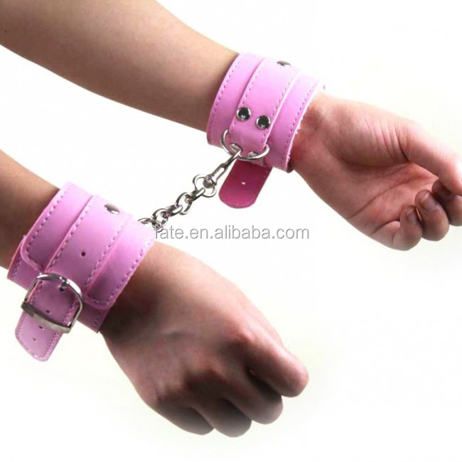 Comfy Sexy Hand Ring PU Adjustable Handcuffs Costume Play Adult Sex Toys Flirt Tools sex toy