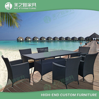 8 chairs and 1 dining table rooms to go outdoor furniture rattan outdoor dining set