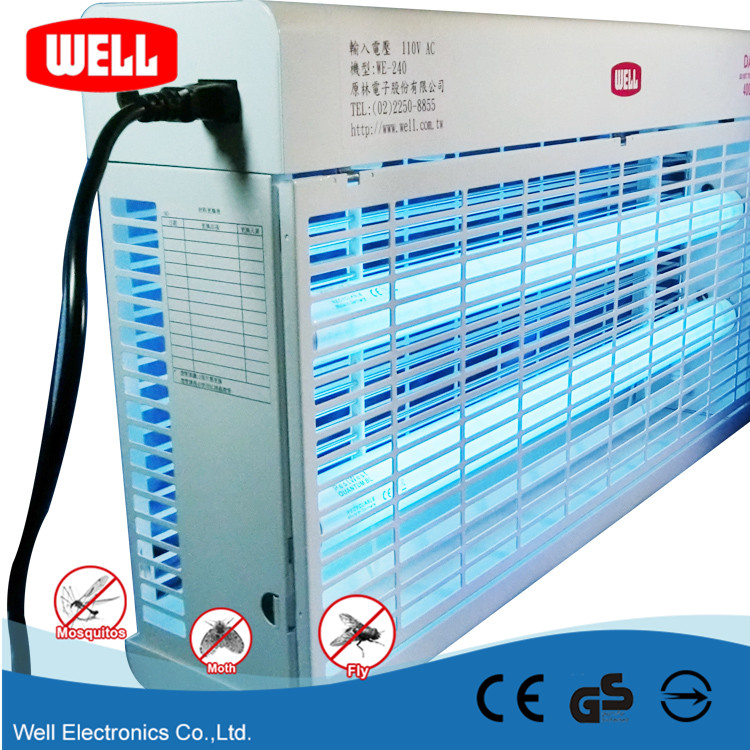 WELL Fluorescent Lamp Automatic Power Off Fly Trap for Textile Lndustry