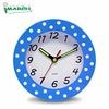 Imarch WC18001-BU CE special shape no-ticking analog wall clock-
