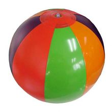 pvc glow beach ball outdoor promotion toy balls