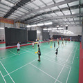 Lifelong Maintenance Badminton Court Mat Flooring with Inner Game Lines