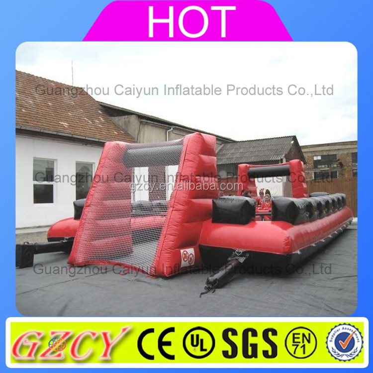 Soapy football pitch/inflatable water soccer court/inflatable soap football