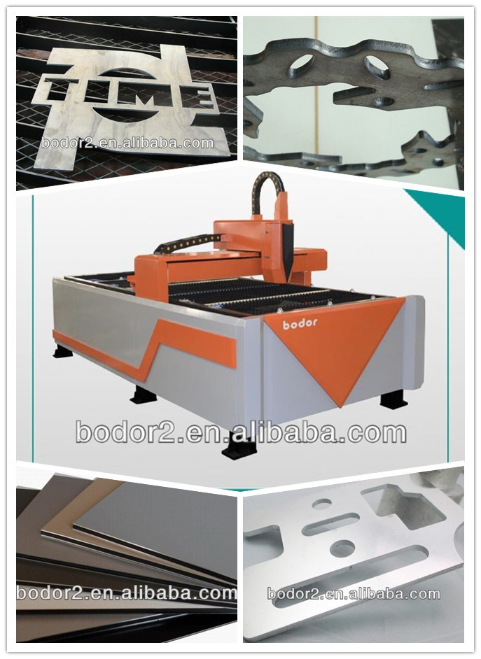 2014 Hot fiber metal laser cutter machine 1530