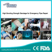 Outside Undergroud Pipe Solution/ Industry Oil / Gas Pipe Repair Bandage Kit/ Pipe Bandage