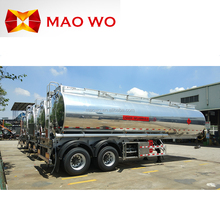 Factory direct sale 50000 litres fuel tanker semi trailer and lpg tank trailer