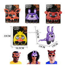 2017 Hot Five Nights At Freddy Mask FNAF Halloween Costume Cosplay Party Mask