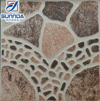 stone design ceramic pavement tile 400X400mm