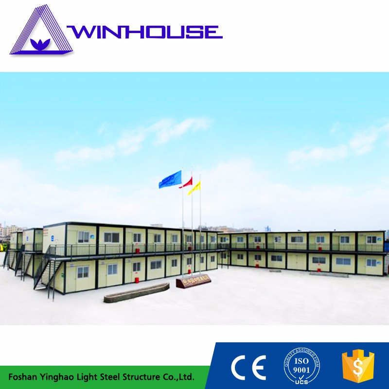 China Fast Building American 2 Bedroom Cheap Prefab Homes