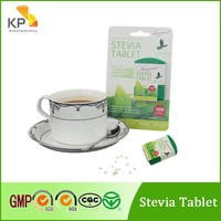 KP natural stevia sweetener tablet in dispenser