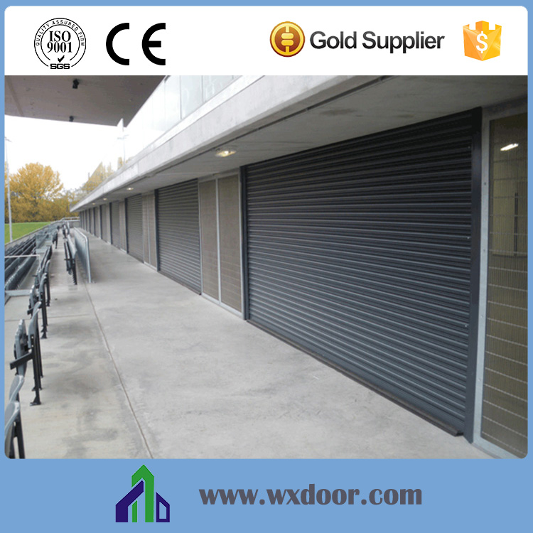 electric automatic steel roller shutter security entrance gate for industry