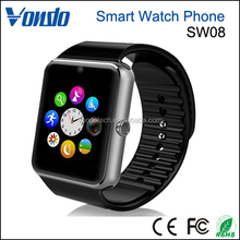 "Vondo SW08 1.54"" screen Sweatproof Smart Watch Phone for iPhone 5s/6/6s And 4.2 Android Or Above SmartPhones - Black"