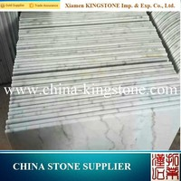 Factory Direct guangxi white polished marble tile for hotel project for Floor and Wall