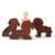 Children's Story Props Bible Character Figurines Wooden Toys