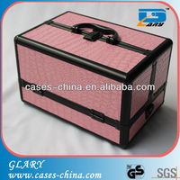 Aluminum make up storage kit box/case