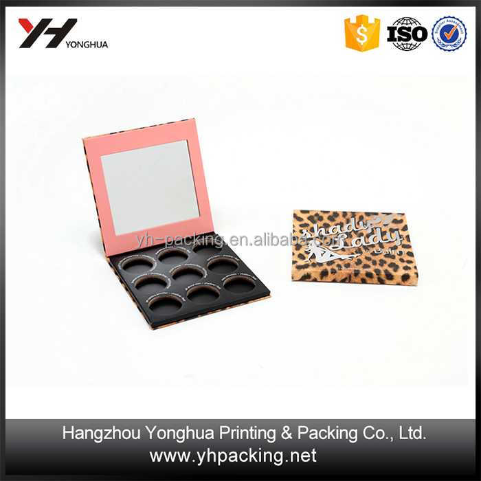 High Quality Custom eyeshadow palette packaging Many Colors Makeup Eyeshadow Case