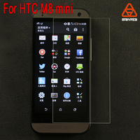 High transparency Original Clear Tempered Glass Screen Protector for HTC One mini 2