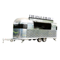 big wheels mobile fryer food cart/mobile motorcycle food van/outdoor food trailer