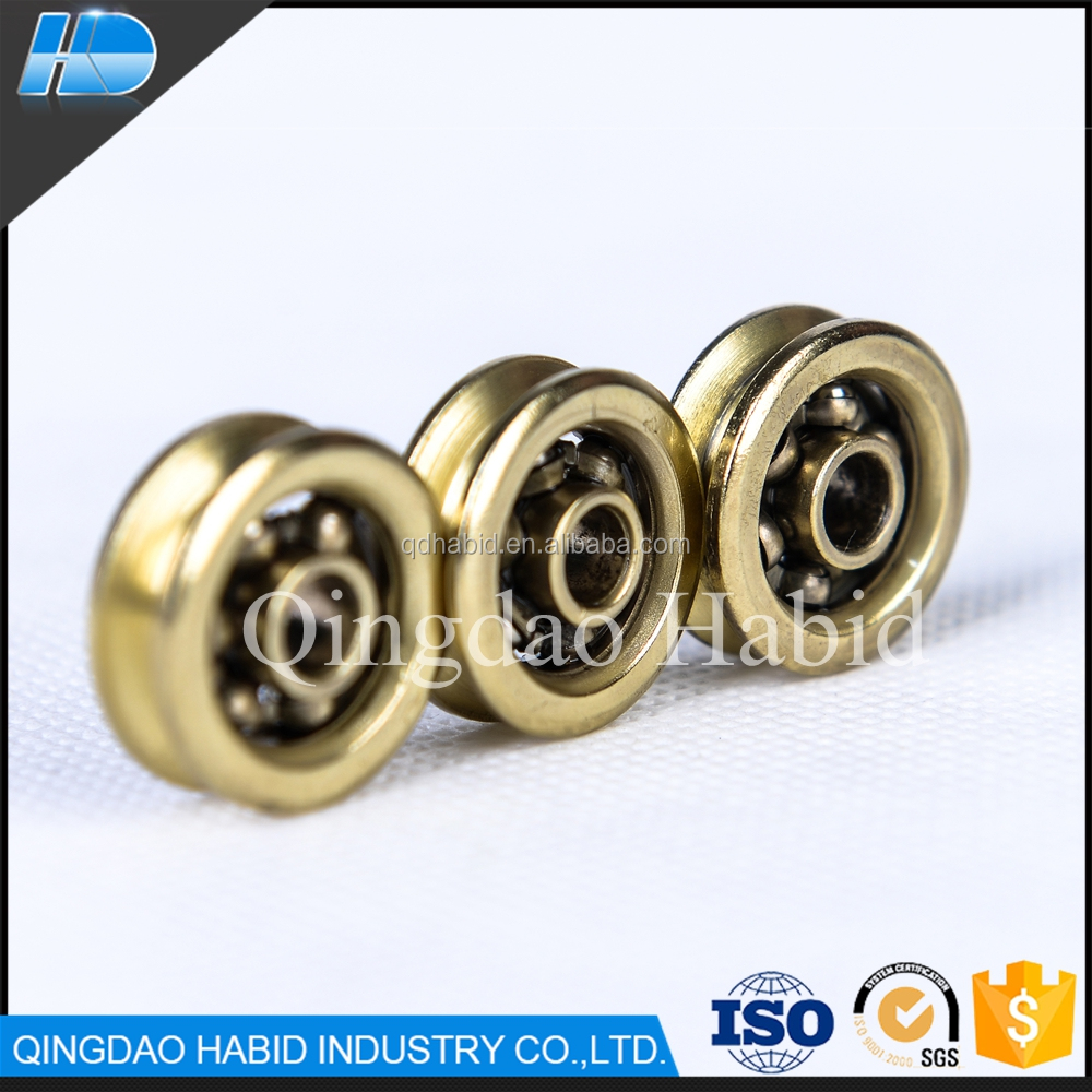 22mm V Sliding Pulley Wheel window door U groove 21mm sliding wheels
