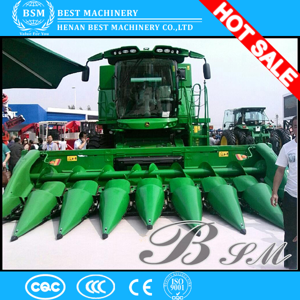 2015 best selling 2 rows 32hp self-propelled type corn harvester