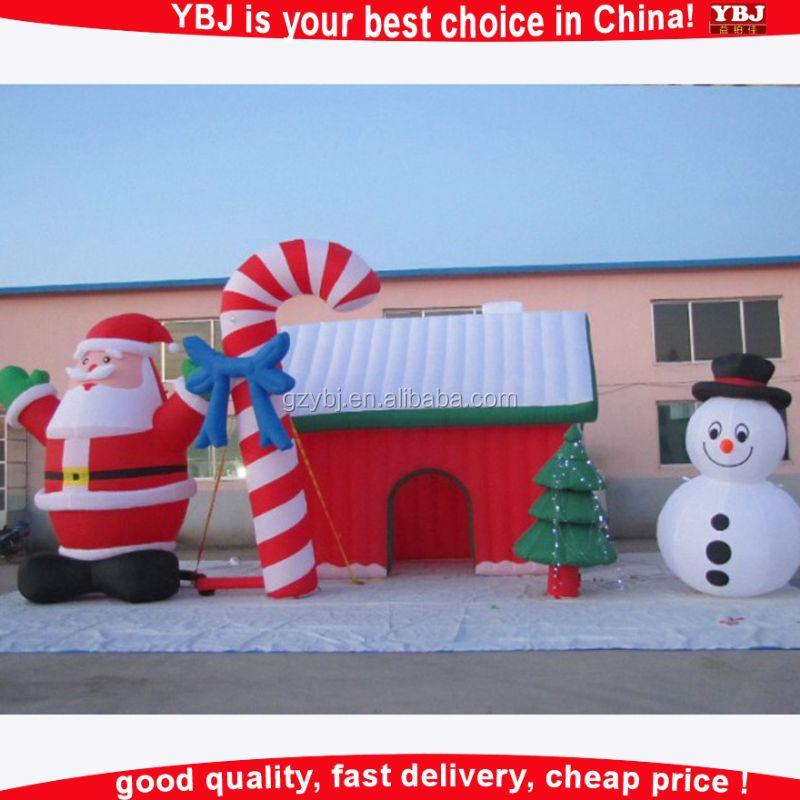 Christmas Inflatable Santa's Grotto, Christmas house,inflatable santa grotto
