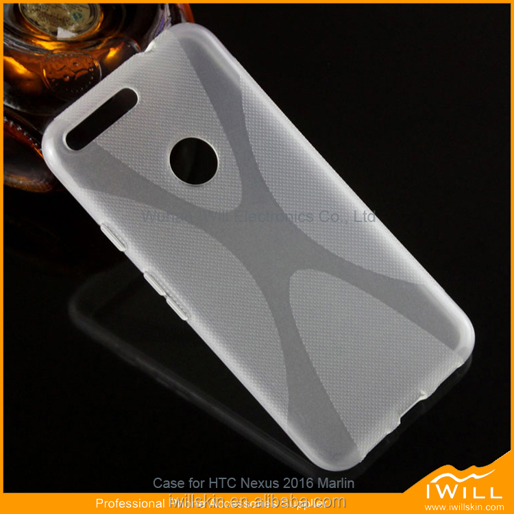 X Line TPU Phone Case For google pixel XL / marlin X Pattern Smart Case