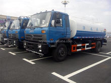 best price Dongfeng 15000 liters water tank truck WATER TRUCK