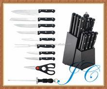 Large quantity kitchen knife set for restaurant with great price