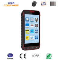 Portable Android system parking stock taking handheld terminal barcode swipe reader scanner