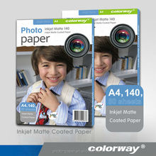 Good quality and nice printing image transparent glossy photo paper photo paper for color printer